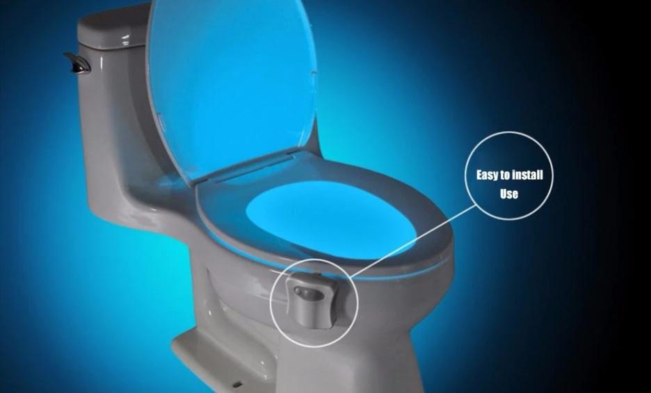 Handige gadget verlicht je toilet
