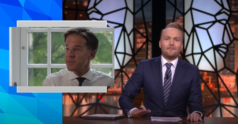 Mark Rutte krijgt ervan langs in Zondag Met Lubach