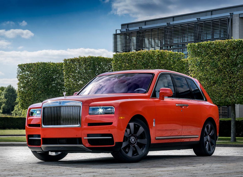Dikke SUV met veel pk: Rolls-Royce Cullinan