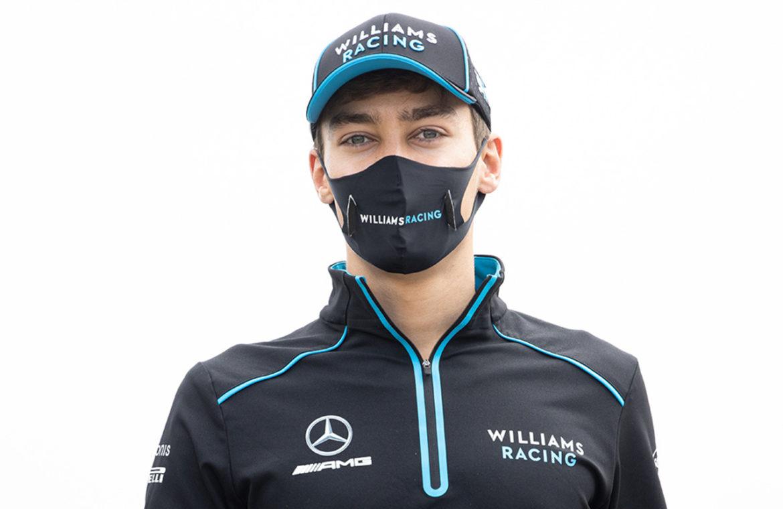 George Russell vervangt Lewis Hamilton