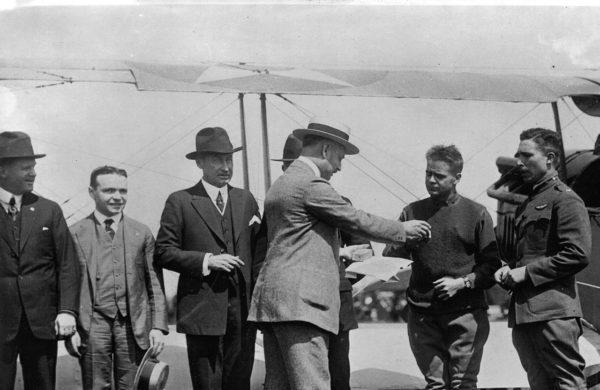 Hamilton pilotenhorloges 1918