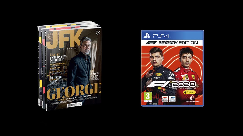 JFK abonnement met F1 2020