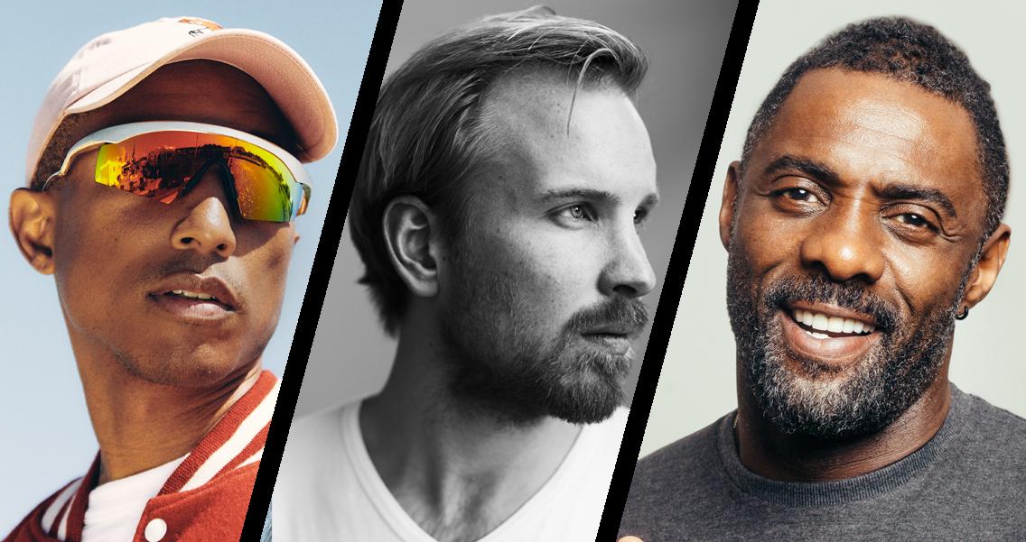Tony's Chocolonely FAIR strikt Pharell Williams en Idris Elba als sprekers