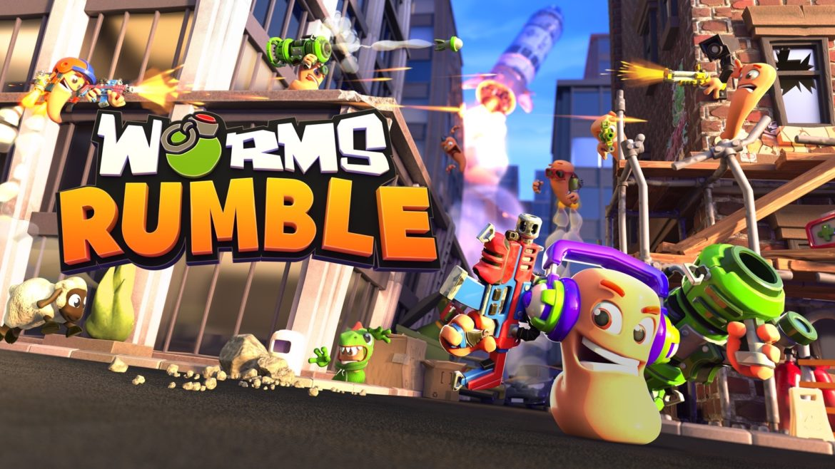 Worms Rumble in december via PlayStation Plus