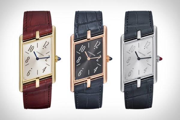 Coolste horloges van 2020: Cartier Tank Asymétrique