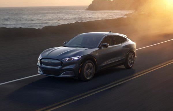 Elektrisch rijden 2021: Ford Mustang Mach-E