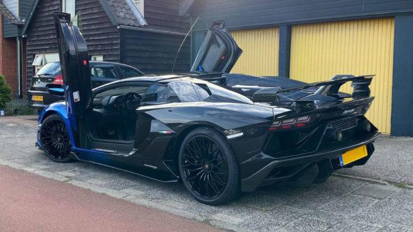 Duurste auto's van 2020: Lamborghini Aventador SVJ Roadster