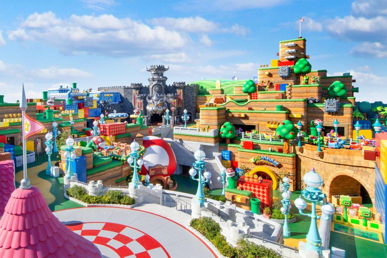 Eerste officiële beelden van Super Nintendo World