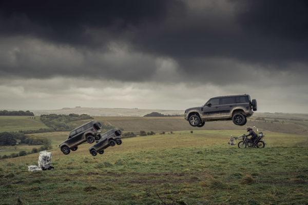 Auto's in nieuwe James Bond-film zijn complete tegenpolen