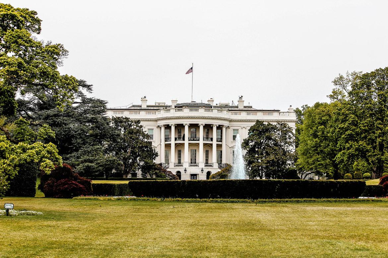 Verhuisdag op het Witte Huis