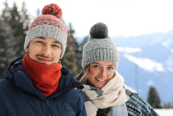 Muts essentieel in sneeuwstorm, ook voor mannen