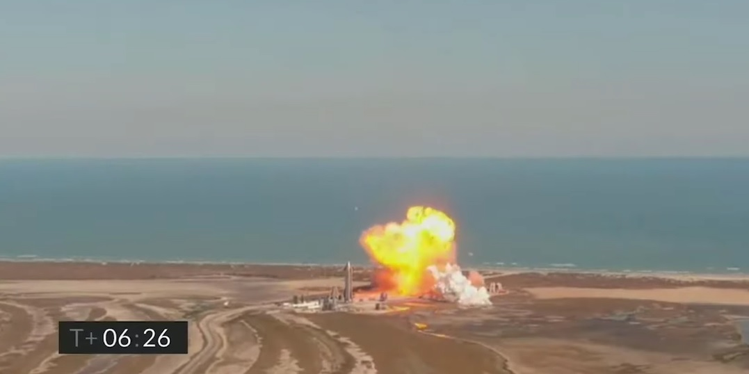 Opnieuw crash van SpaceX raket bij 'landing'