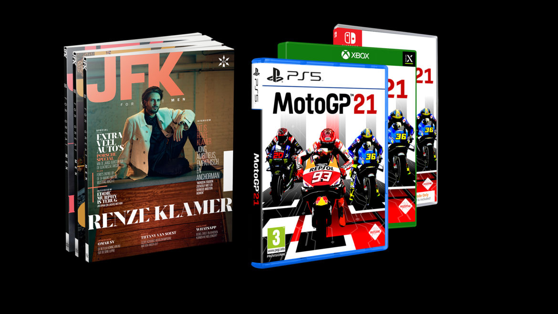 Jaarabonnement JFK met MotoGP21