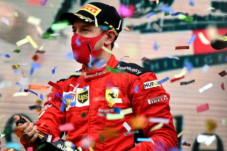 Formule 1: Ferrari elke GP op het podium in 2021