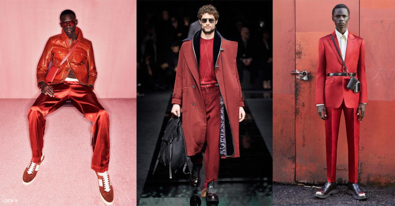 Rood is de kleur van het seizoen