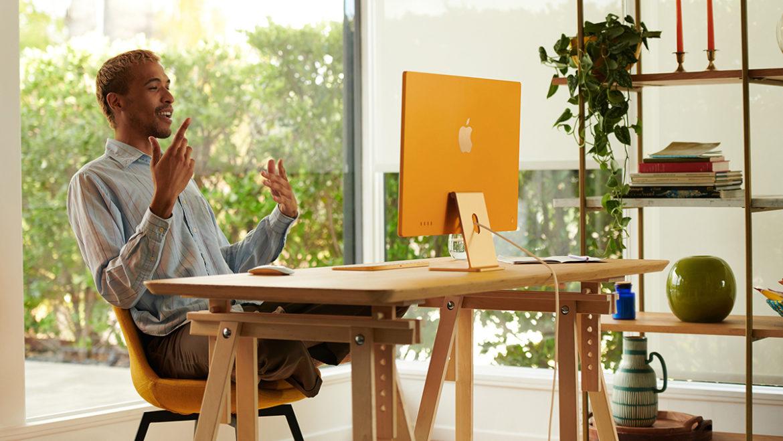 Apple maakt kleurrijke iMac