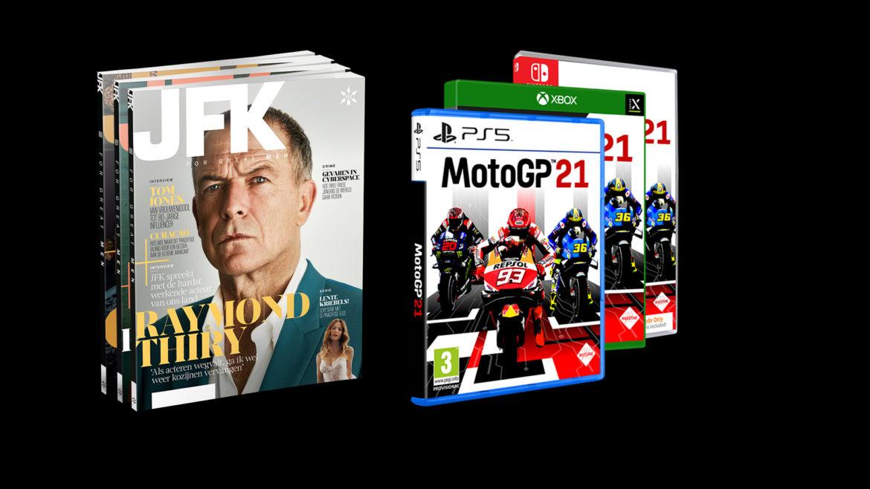 JFK abonnement met MotoGP21