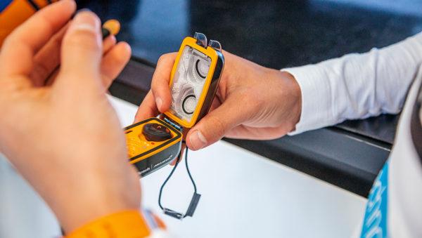 Klipsch T5 II True Wireless Sport McLaren-hoofdtelefoon