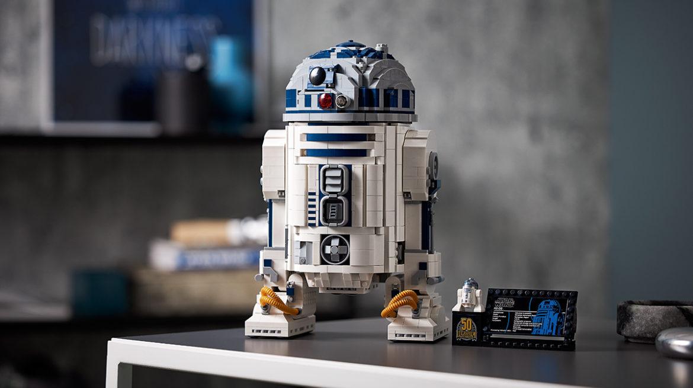 LEGO viert Star Wars jubileum met gedetailleerde R2-D2