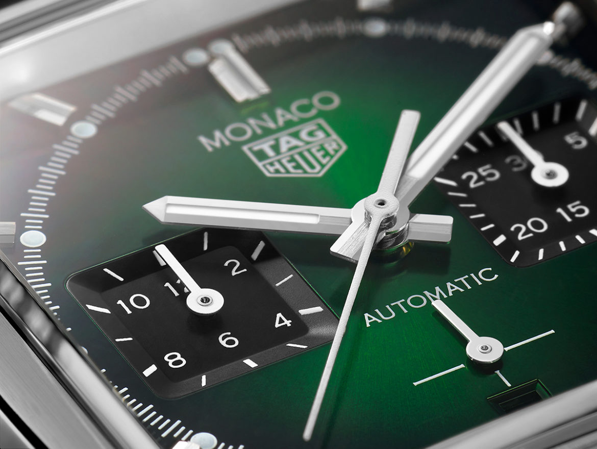 TAG Heuer Monaco Green Dial Limited Edition 2021