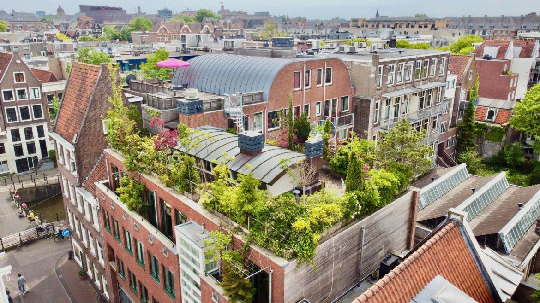 Te koop: Modern penthouse in Amsterdam met groen dakterras