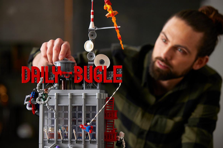 LEGO Spider-Man Daily Bugle
