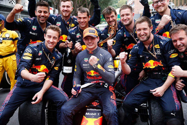 TAG Heuer Monaco Titan blijkt lucky charm van Max Verstappen