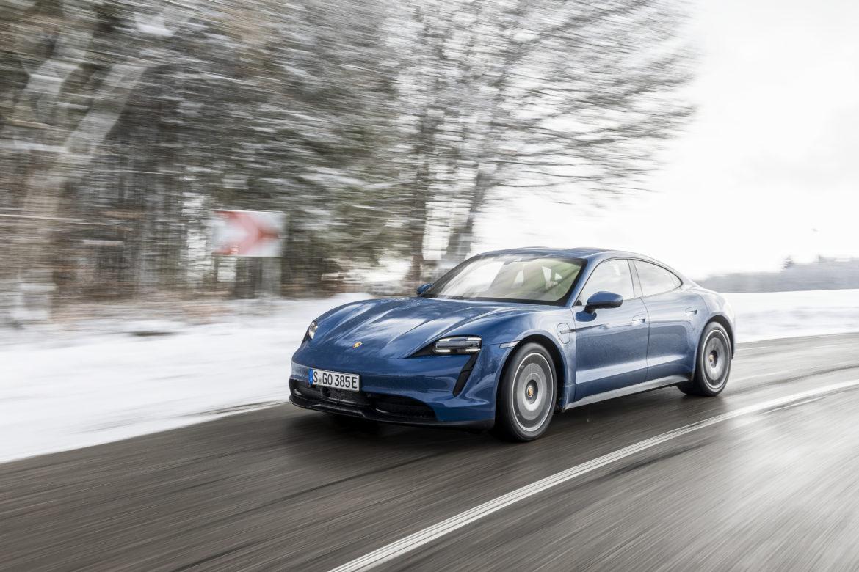 Porsche Taycan 2021: advertorial