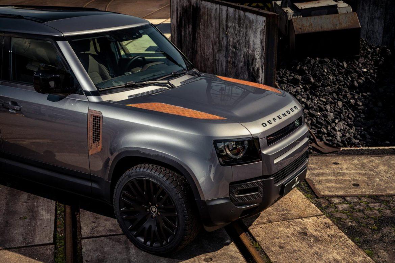 Land Rover Defender wordt nog stoerder door roest