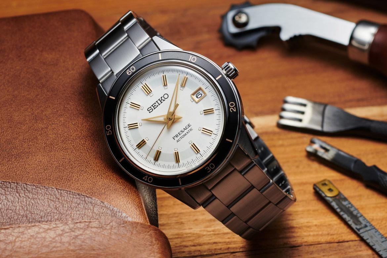 Seiko Presage Style60's: retro-horloge