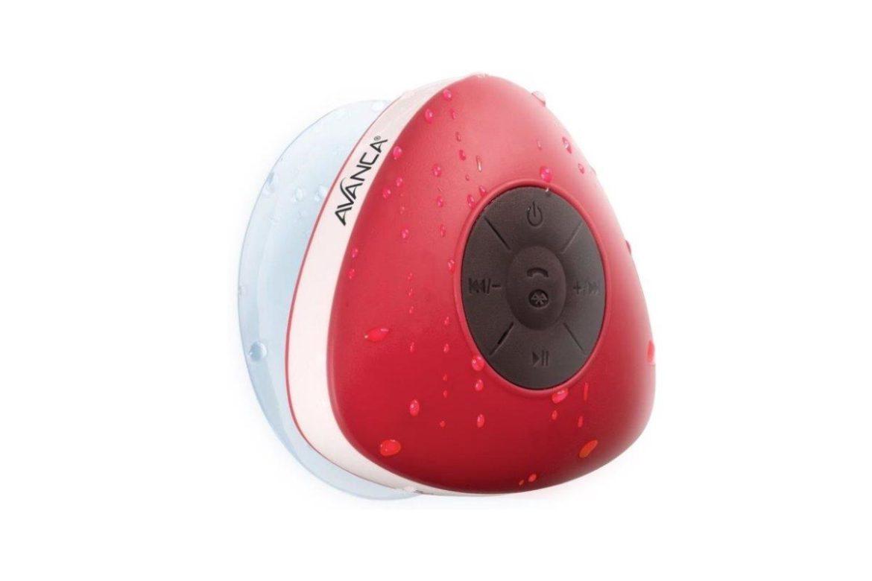 Avanca waterproof speaker rood