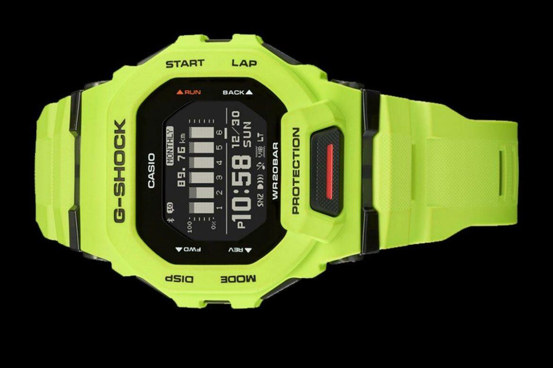Casio G-Shock GBD-200 lime groen