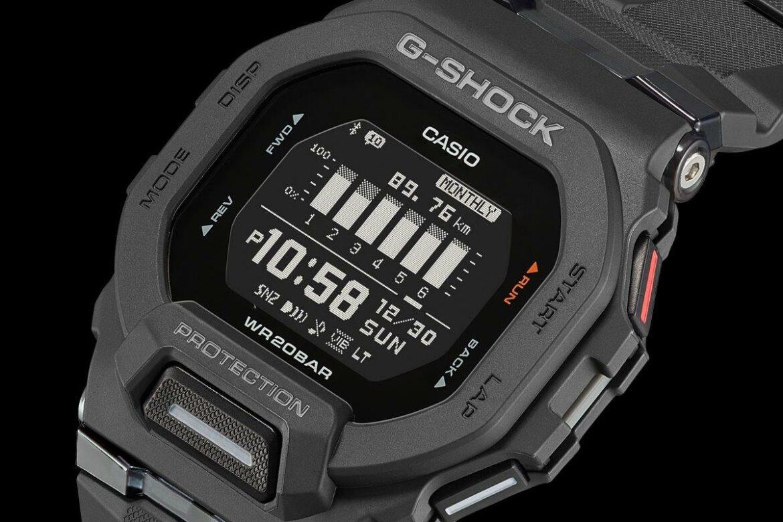 Casio G-Shock GBD-200 zwart zijkant