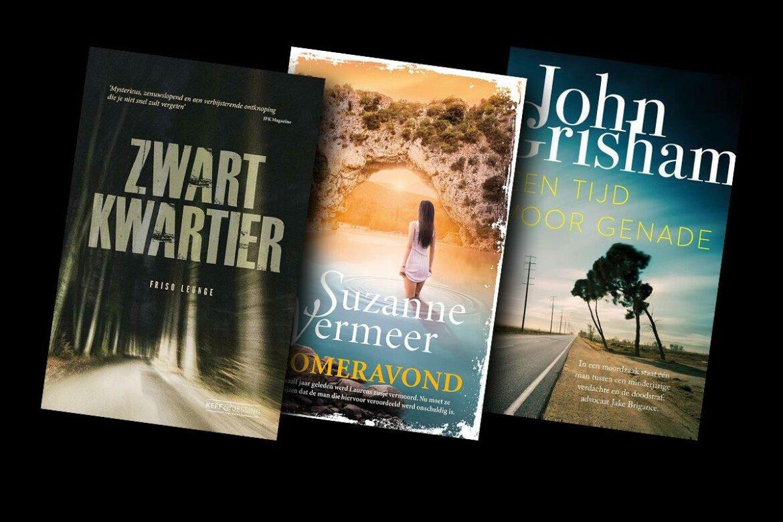 Drie thrillers die je niet mag missen
