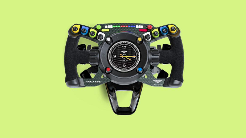 Fanatec Bentley GT3-stuur klok