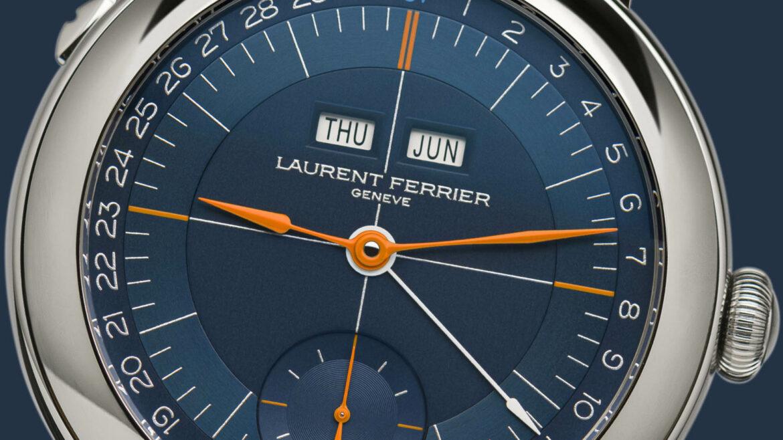 Laurent Ferrier Ecole Annual Calendar Navy wijzerplaat