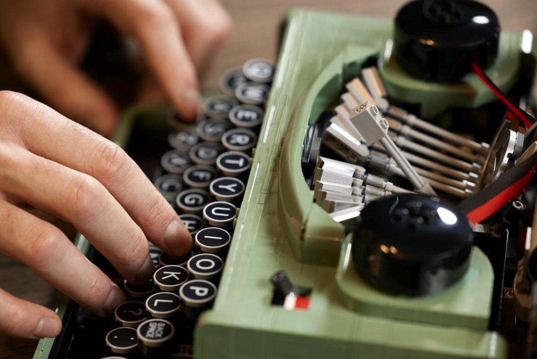 Lego-typemachine
