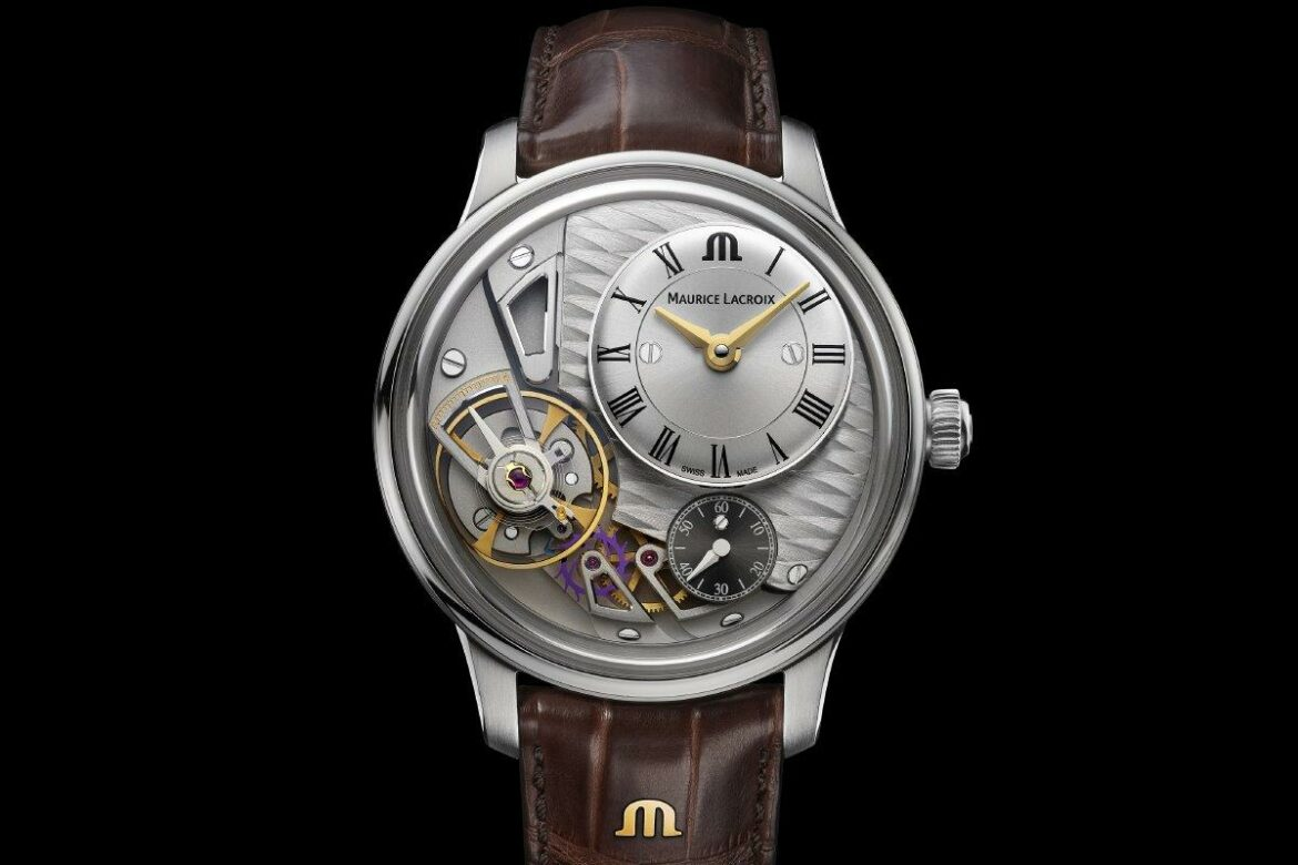 Maurice Lacroix Masterpiece Gravity front