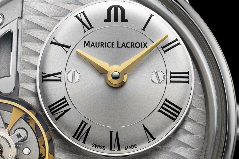 Maurice Lacroix Masterpiece Gravity wijzerplaat