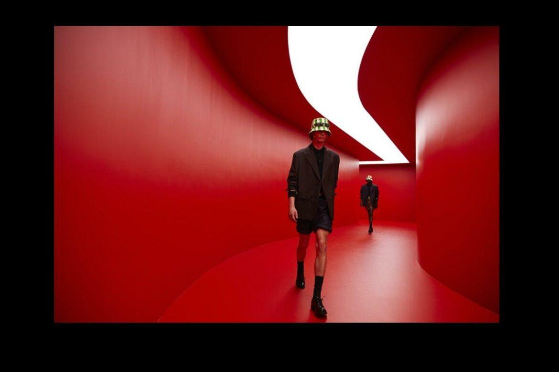 Milano Fashionweek lente/zomer 2022 Prada