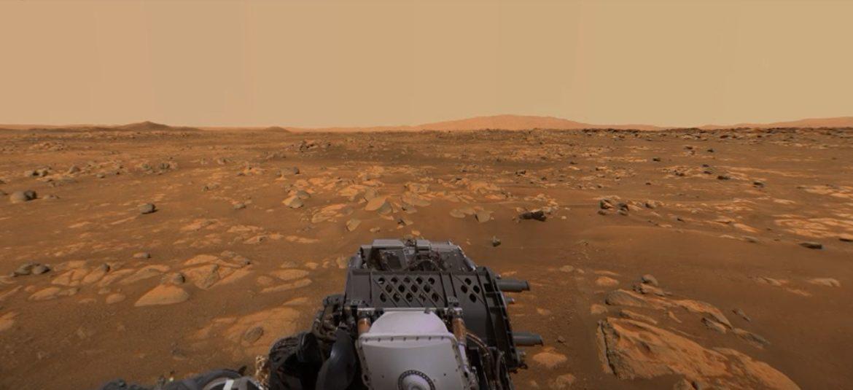 360-gradenbeeld van Mars