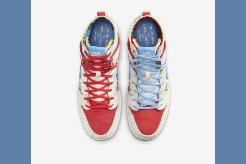 Nike Ishod Wair x Magnus Walker bovenkant