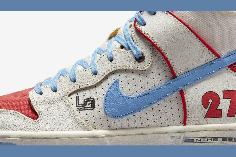 Nike Ishod Wair x Magnus Walker detail zijkant