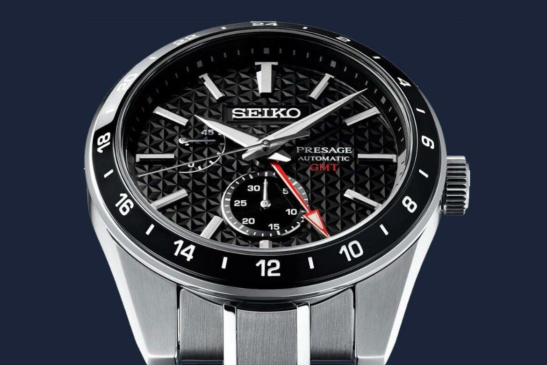 Seiko Presage Sharp Edged Series GMT top