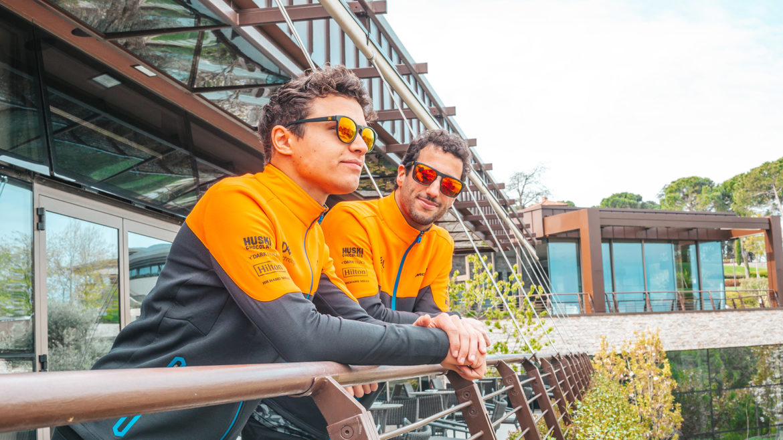 SunGod x McLaren zonnebril 2021: Lando Norris en Daniel Ricciardo