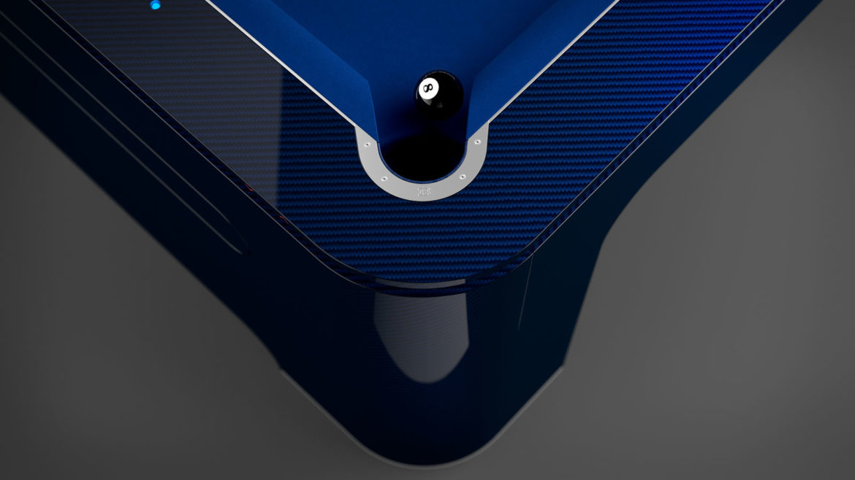 Bugatti pooltafel pocket