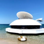 Drijvend en mobiel appartement in paradijs