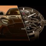 Girard-Perregaux x Aston Martin tourbillo in de auton