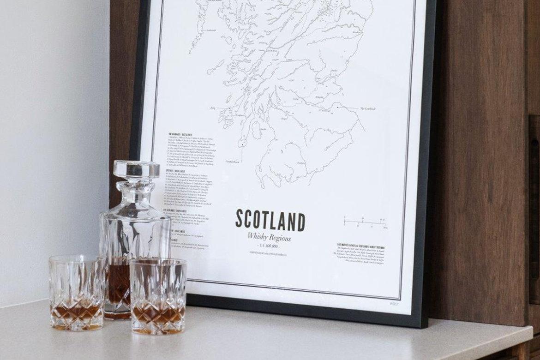 kunst met whisky