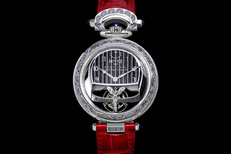 Rolls-Royce x Bovet horloge dames voorkant